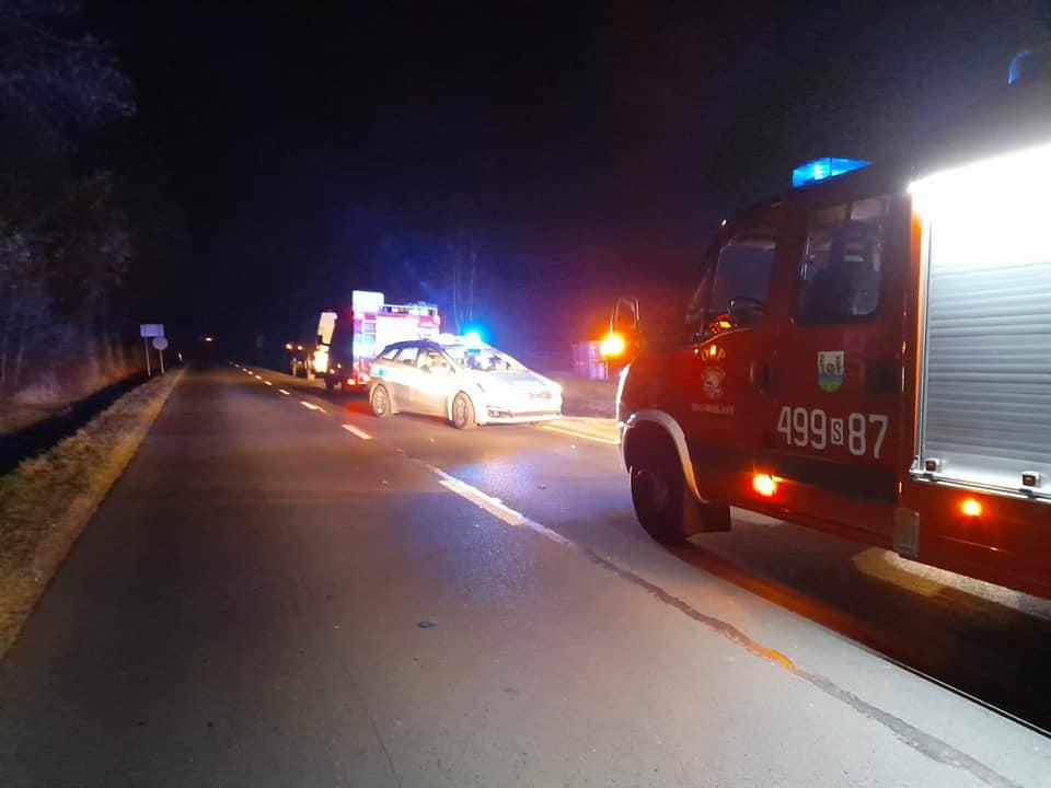 Cudem nie doszło do katastrofy. Pijany kierowca z impetem wpadł na stację paliw 3