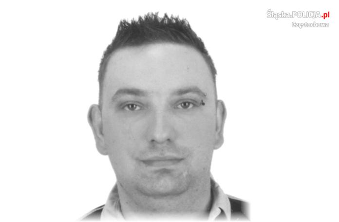 Zaginął 33-latek, częstochowska policja prosi o pomoc 2