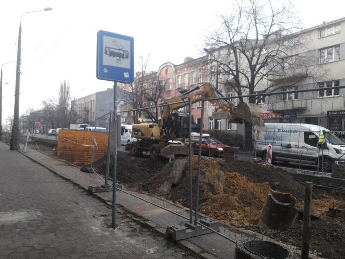 Trwa budowa torowiska w centrum Częstochowy. Przez kilka miesięcy musimy się liczyć z utrudnieniami 2