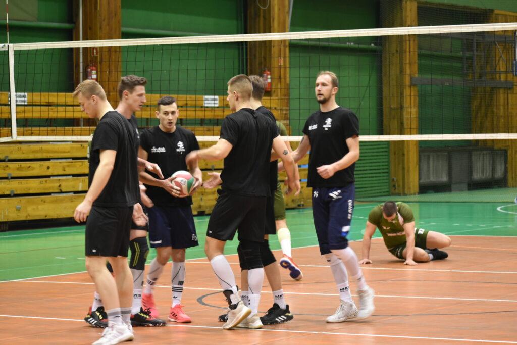 Wygrana siatkarzy AZS-u Częstochowa w sparingu z Będzinem 1