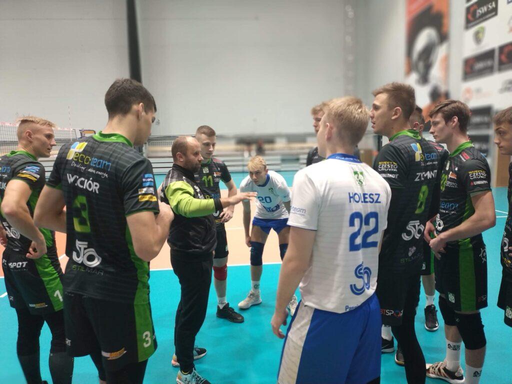 Wygrana Eco-Team AZS Stoelzle w Jastrzębiu w 2 lidze 1