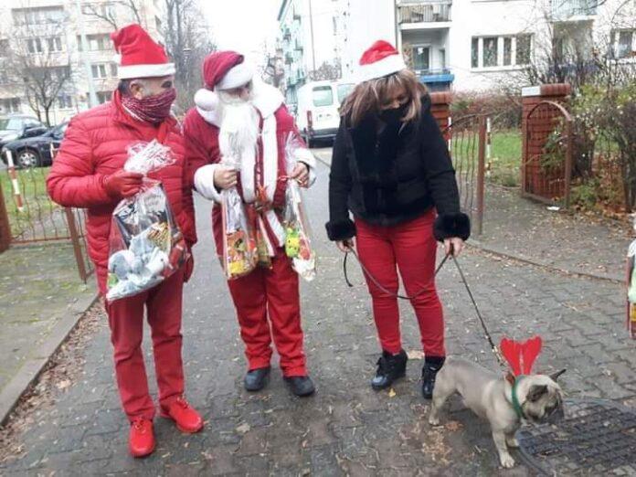 Orszak św. Mikołaja z gwiazdami sportu i estrady dotarł do dzieci z niepełnosprawnościami i przywiózł prezenty. Upominki dotarły przed 6 grudnia 5