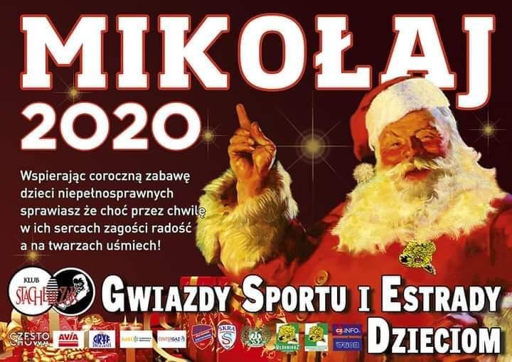 Janusz Danek jako św. Mikołaj wyrusza w piątek, 4 grudnia z prezentami do dzieci z niepełnosprawnościami. Pomogą mu gwiazdy sportu i estrady 1