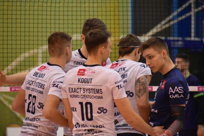 Siatkarze Exact Systems Norwida jadą do Strzelec Opolskich po 13 wygraną w sezonie 10