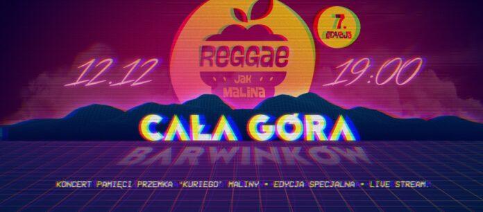 """Festiwal """"Reggae Jak Malina"""" już w sobotę! W tym roku koncert będzie online 2"""