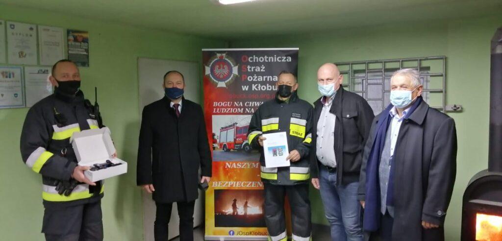 Detektor wielogazowy dla Strażaków z Kłobucka 1