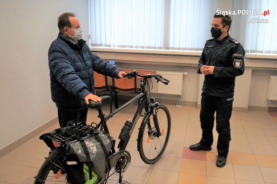 Lublinieccy policjanci otrzymali nowy rower 1