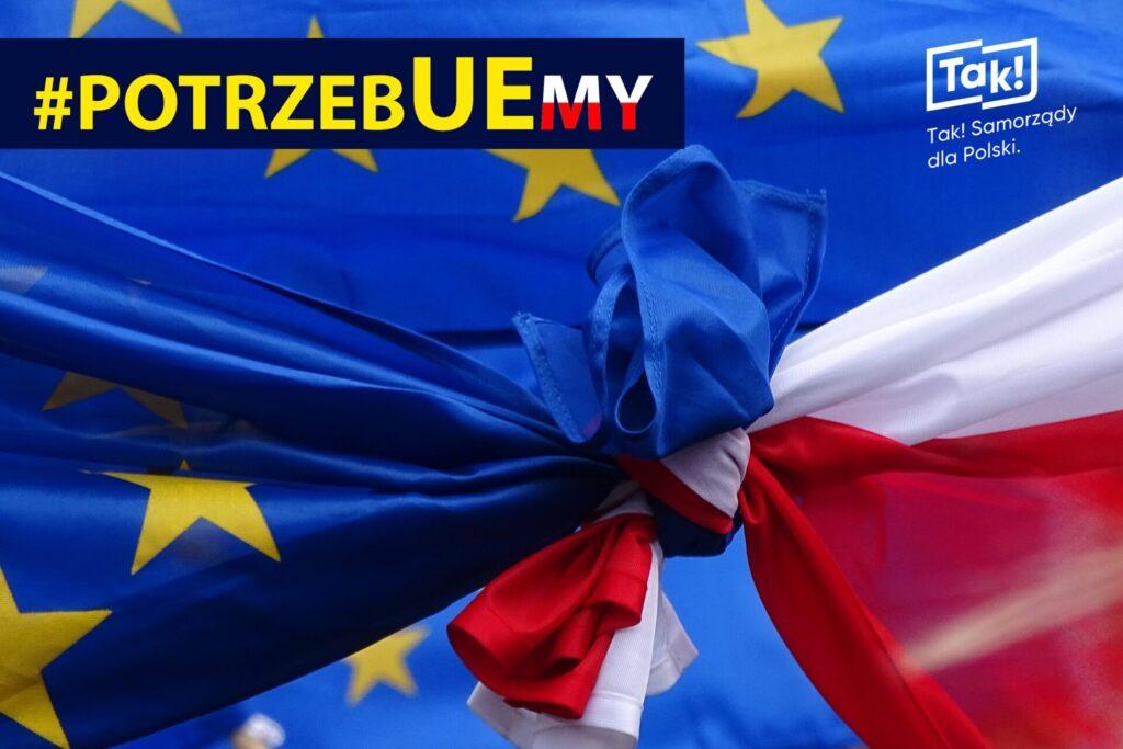 Częstochowa chce być w Unii Europejskiej. Na znak tego w mieście wywieszono unijne flagi 1