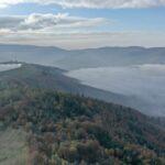 Jesienna Góra Żar , widokowa trasa dla amatorów spacerów 12