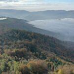 Jesienna Góra Żar , widokowa trasa dla amatorów spacerów 11
