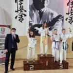Zawodniczki Klubu Karate Randori z Radomska ze srebrnym i brązowym medalem 4