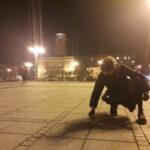 Częstochowianie przy muzyce Kultu protestowali na placu Biegańskiego 1