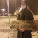Częstochowianie przy muzyce Kultu protestowali na placu Biegańskiego 3