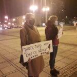 Częstochowianie przy muzyce Kultu protestowali na placu Biegańskiego 5