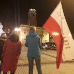 Częstochowianie przy muzyce Kultu protestowali na placu Biegańskiego 6