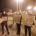 Częstochowianie przy muzyce Kultu protestowali na placu Biegańskiego 8
