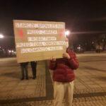 Częstochowianie przy muzyce Kultu protestowali na placu Biegańskiego 9