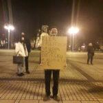 Częstochowianie przy muzyce Kultu protestowali na placu Biegańskiego 11