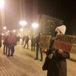 Częstochowianie przy muzyce Kultu protestowali na placu Biegańskiego 12