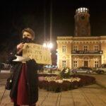Częstochowianie przy muzyce Kultu protestowali na placu Biegańskiego 14