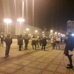 Częstochowianie przy muzyce Kultu protestowali na placu Biegańskiego 15