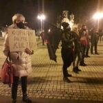 Częstochowianie przy muzyce Kultu protestowali na placu Biegańskiego 18