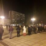Częstochowianie przy muzyce Kultu protestowali na placu Biegańskiego 19