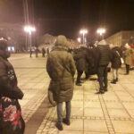 Częstochowianie przy muzyce Kultu protestowali na placu Biegańskiego 20