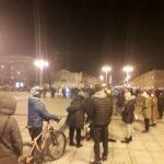 Częstochowianie przy muzyce Kultu protestowali na placu Biegańskiego 21