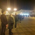 Częstochowianie przy muzyce Kultu protestowali na placu Biegańskiego 22