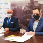Umowy z wykonawcami trasy rowerowej Olsztyn – Żarki podpisane 3