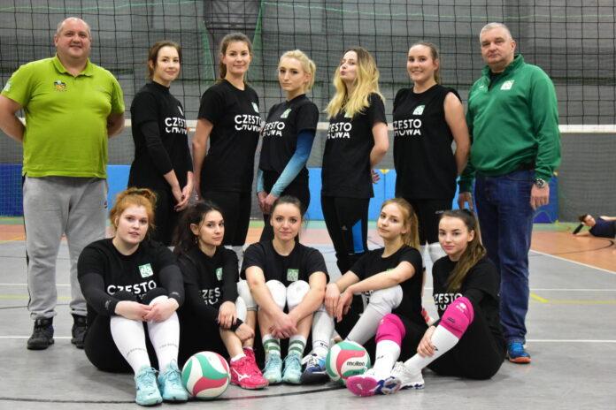 Szybki mecz siatkarek AZS Częstochowa w Blachowni 2