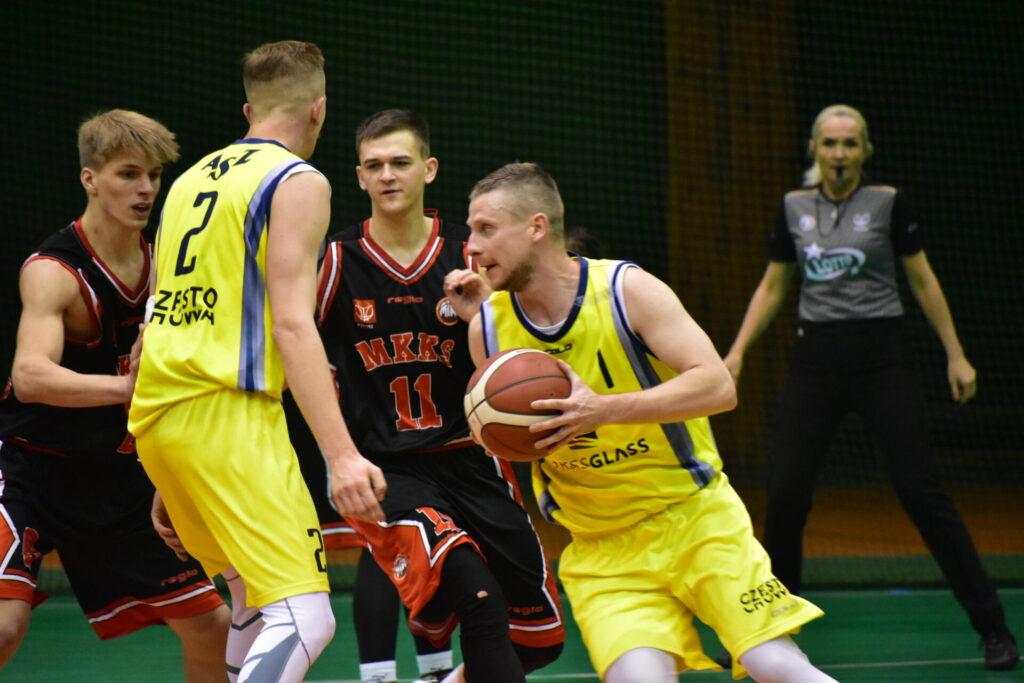 Koszykarze AZS Politechniki nowy 2021 rok rozpoczęli od wygranej 99:96... Oby tak dalej... 5