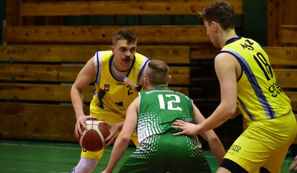 Lider za silny dla koszykarzy AZS Politechniki. Porażka 55 punktami... 1
