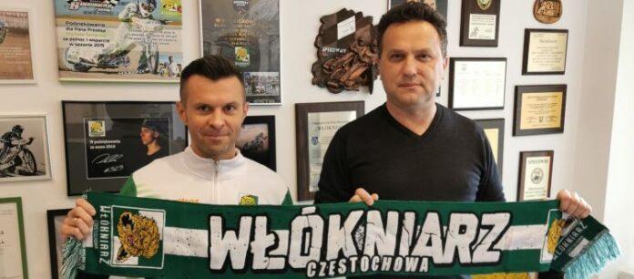 """Dobra wiadomość dla kibiców Eltrox Włókniarza na nowy 2021 rok. Jarosław Dymek znowu """"Lwem"""" 3"""
