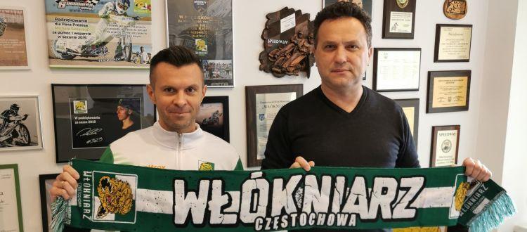 Michał Finfa z Eltrox Włókniarza przeniósł się do Cellfast Wilki Krosno 1