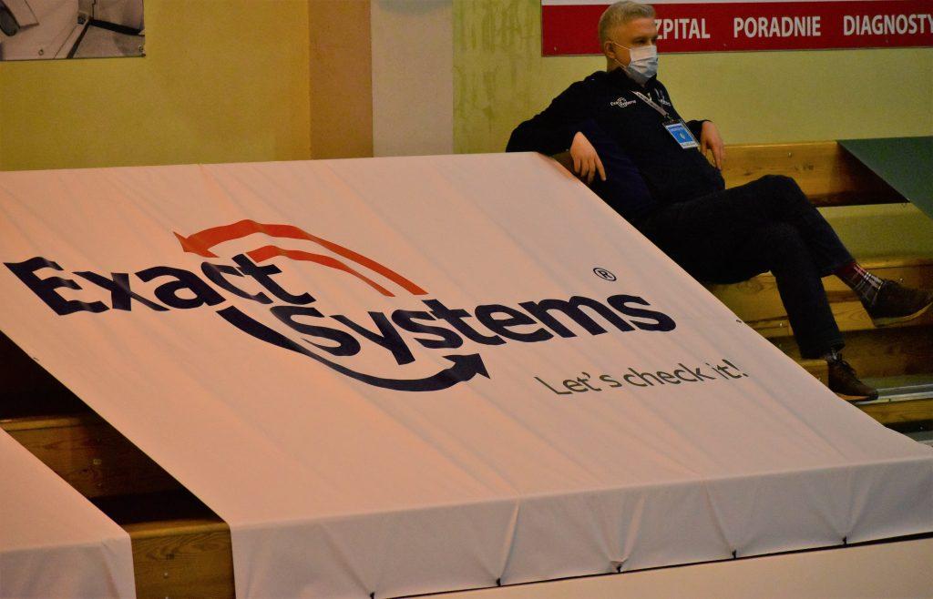 Znany siatkarski menedżer oglądał mecz Exact Systems Norwida z AZS AGH Kraków. Szukał talentów? 9