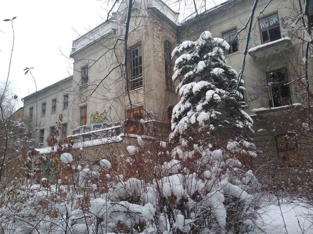 Niszczeje piękny niegdyś budynek, w którym uczyli się częstochowscy studenci 3