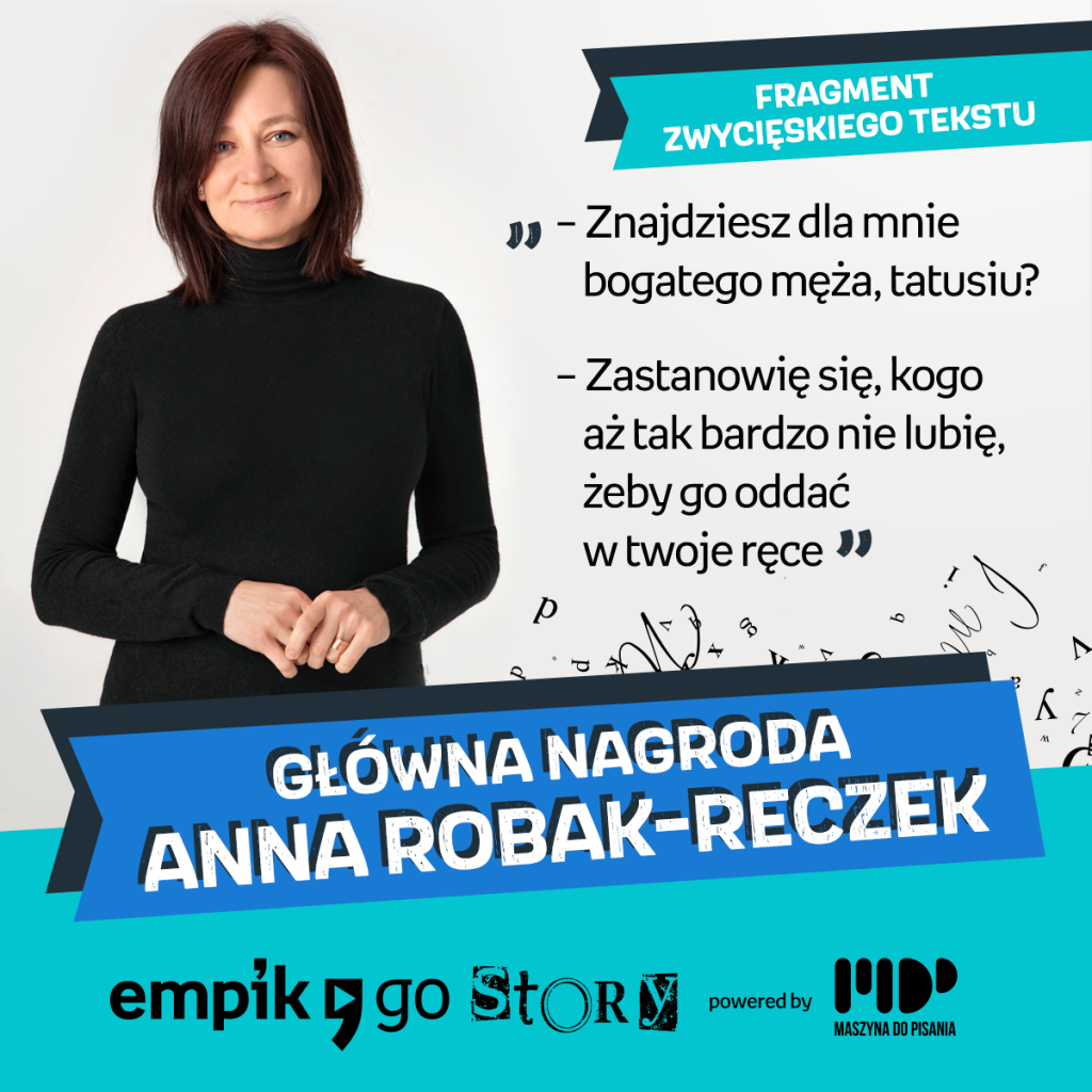 Związana z Częstochową Anna Robak-Reczek zwyciężczynią konkursu Empik Go Story 3