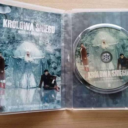 """Teatr im. Mickiewicza w Częstochowie wydał płytę z muzyką do spektaklu """"Królowa Śniegu"""" 2"""
