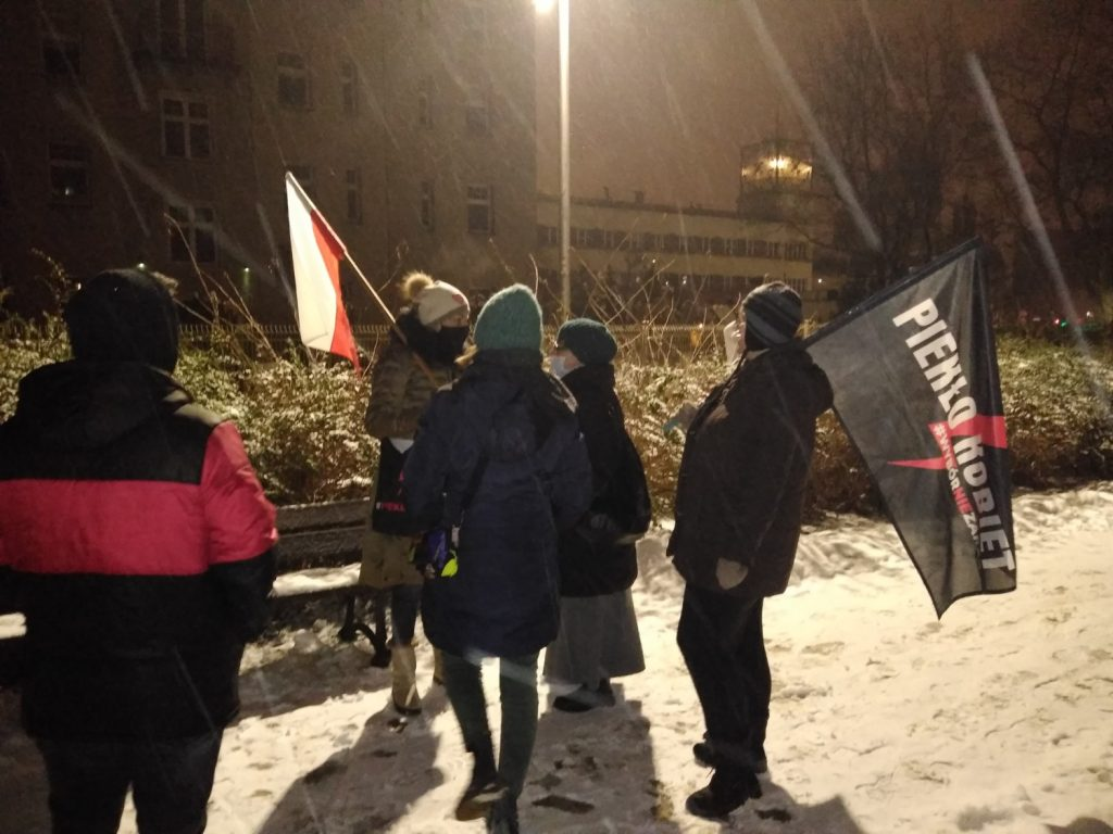 Drugi dzień protestów przeciw publikacji wyroku TK 2