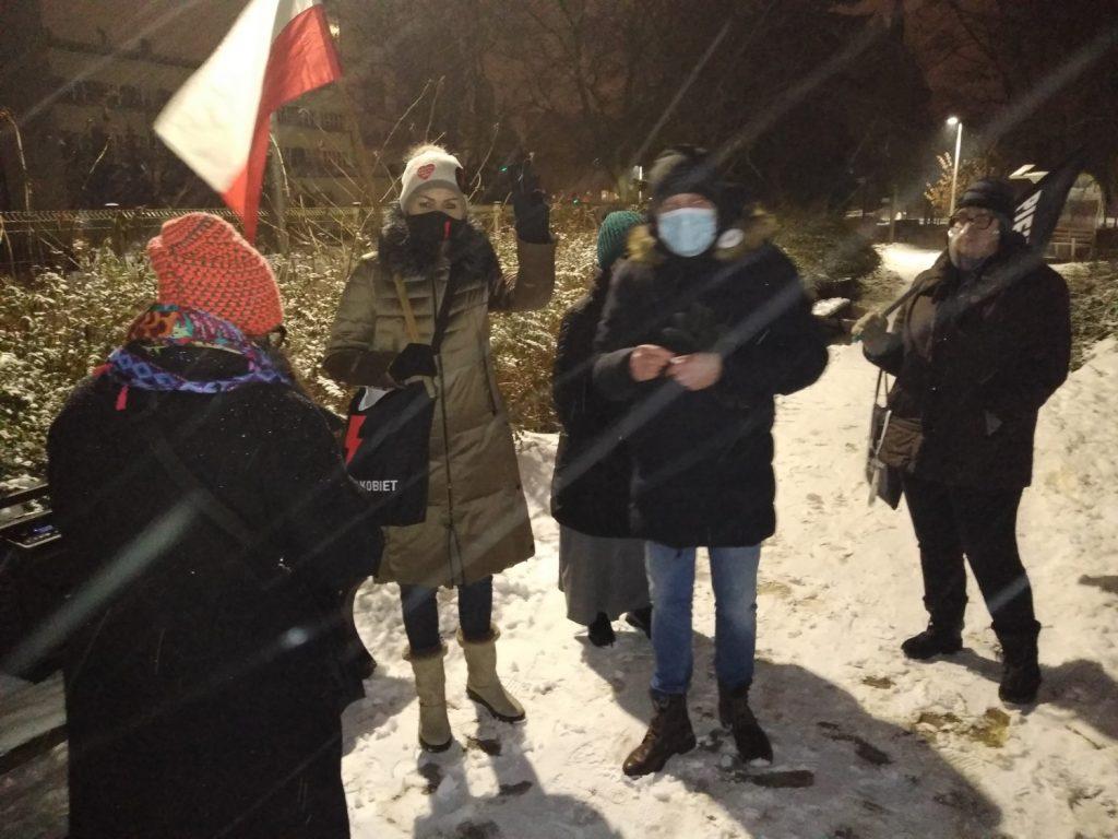 Drugi dzień protestów przeciw publikacji wyroku TK 4