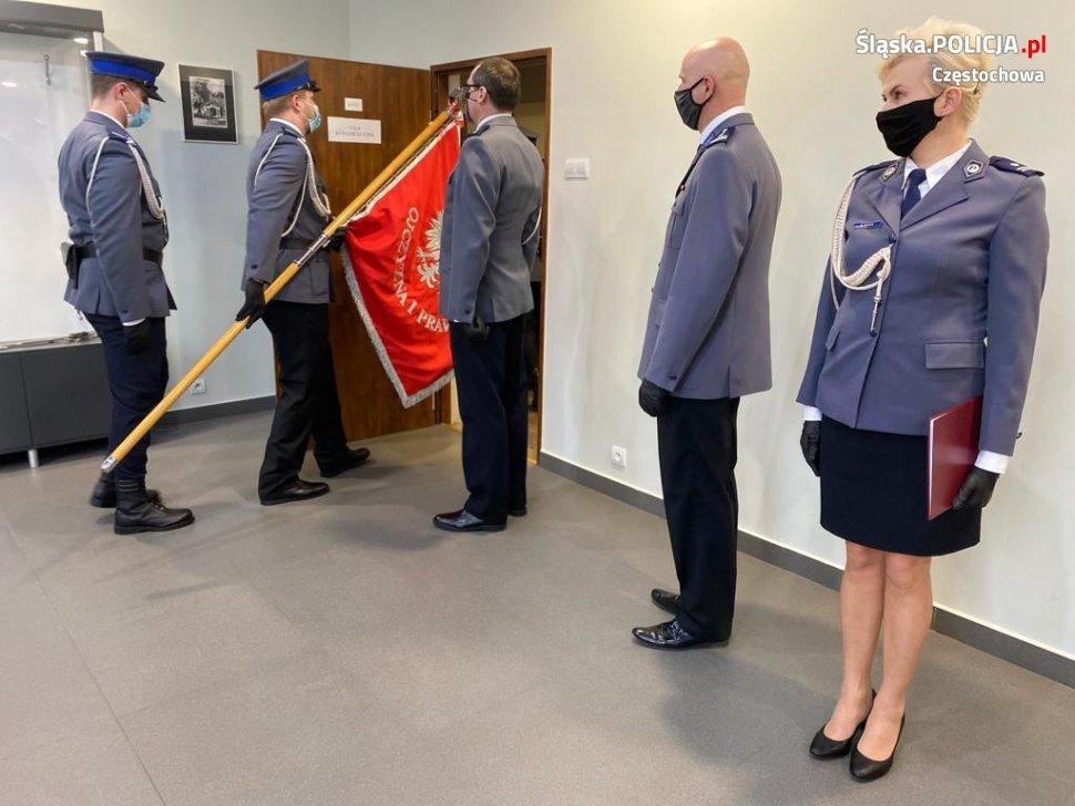 Trzech nowych funkcjonariuszy w częstochowskiej policji 5