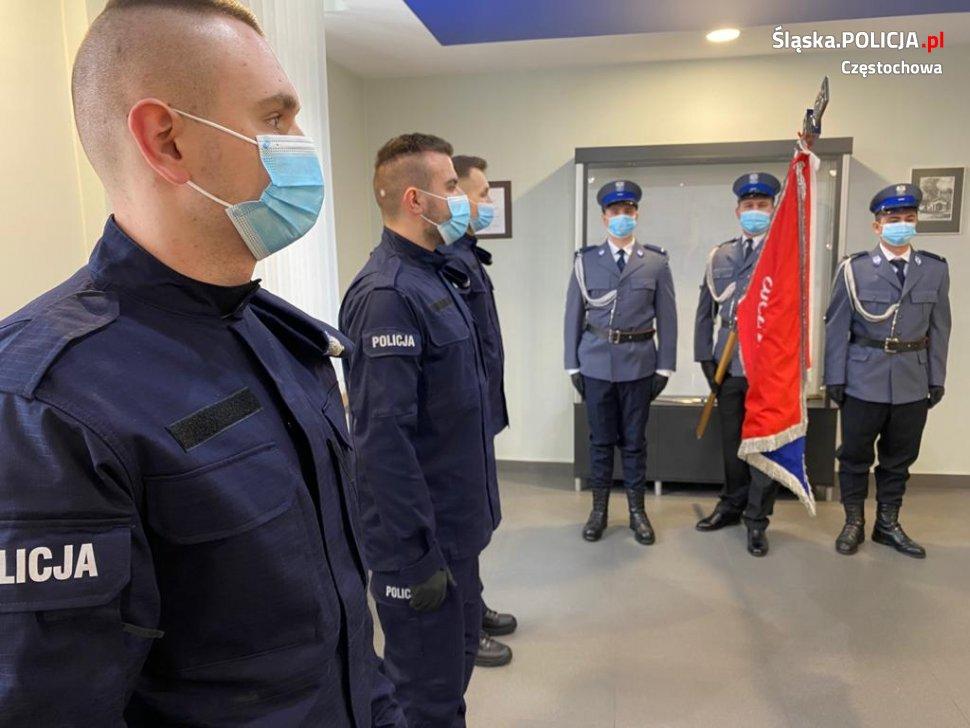 Trzech nowych funkcjonariuszy w częstochowskiej policji 6