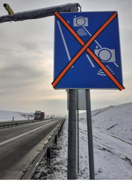 Uwaga! Odcinkowy pomiar prędkości na budowanym odcinku autostrady A1 1