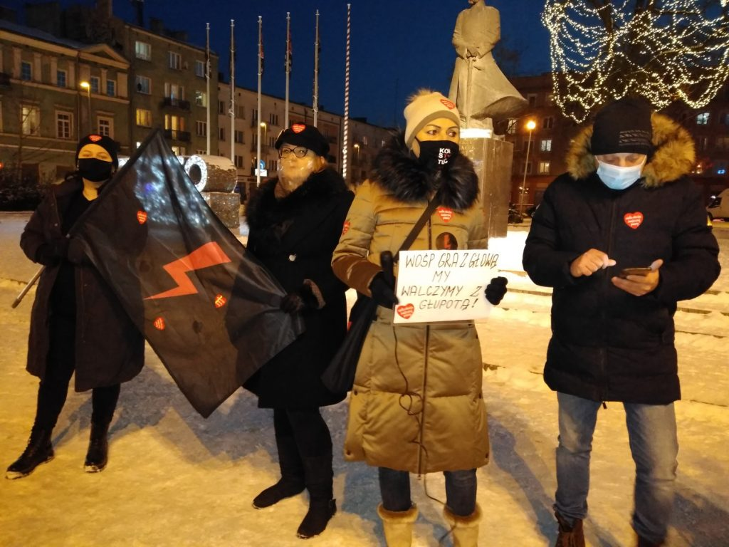 Strajk Kobiet z WOŚP, WOŚP ze Strajkiem Kobiet 3