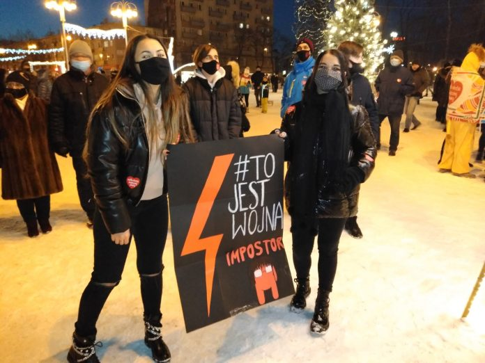 Dzisiaj kolejny protest na ulicach Częstochowy 2