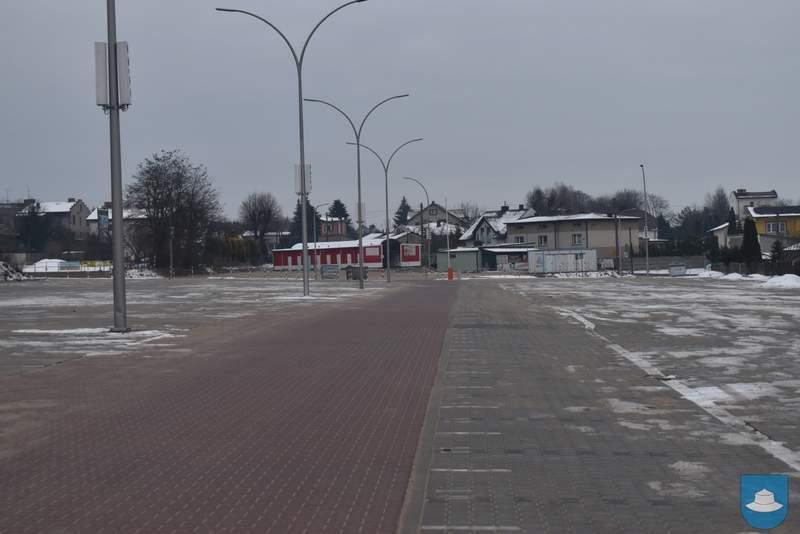 W Kłobucku modernizują plac targowy 1