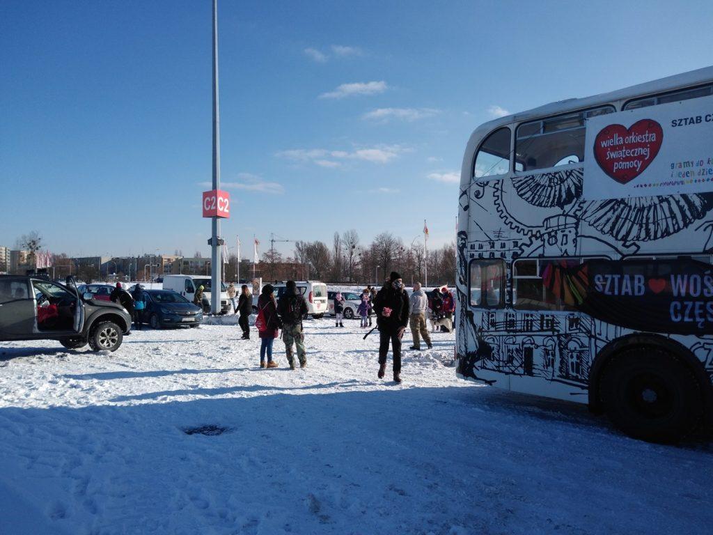 Samochodowa Parada Serc na rzecz częstochowskiego sztabu WOŚP 1