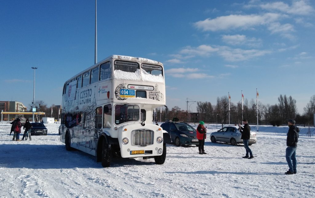 Samochodowa Parada Serc na rzecz częstochowskiego sztabu WOŚP 17